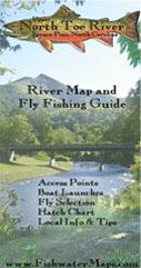 North Carolina Toe River Trout Fishing Delayed Harvest Map
