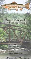 Whitetop Laurel Virginia Fly Fishing Map Trout Fishing Guide