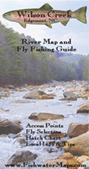 North Carolina Wilson Creek Trout Fishing Delayed Harvest Map