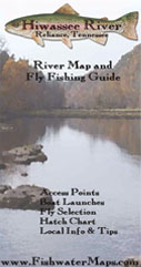 Hiwassee River, Tennessee Fly Fishing Map Trout Fishing Guide